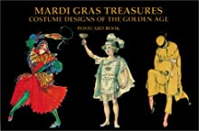 Mardi Gras Treasures: Costume Designs of the Golden Age Postcard Book