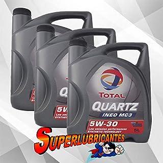 Mundocoche Total Quartz Ineo MC3 5W30 3x5L(15Litros)