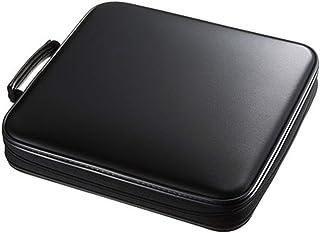 Lwieui Caja de Almacenamiento de CD 160 Capacidad de CD Mano Llevar a la Caja de Almacenamiento de CD Caja compacta y fáci...