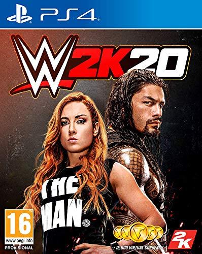 WWE 2K20 (PS4) (Français, allemand, espagnol, italien, anglais)