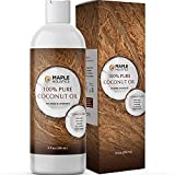 Coconut Oil for Hair Skin and Nails - Fractionated Coconut Oil for Face and Body Oil for Dry Skin and Moisturizing Hair Oil for Dry Hair - Multipurpose Coconut Carrier Oil for Essential Oils Mixing