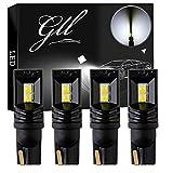 GLL 4pcs Blanc T10 501 Ampoules LED 194 168 W5W 3030-4SMD Wedge T10 Ampoules Pour Dôme Intérieur de Voiture Tableau de Bord du Coffre Feux de Plaque D'immatriculation