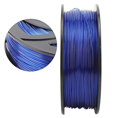 XHCP 1.75mm PLA Filament, 3D Printer Filament 1KG, Blue 3D Printing Filament 3D Printer Accessories kit for Home Decoration, Toys and Gifts, etc