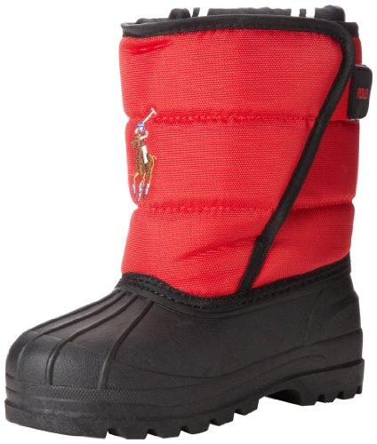 Polo Ralph Lauren Kids Albirta EZ Boot (Toddler/Little Kid/Big Kid),Red Ballistic Nylon,5 M US Toddler