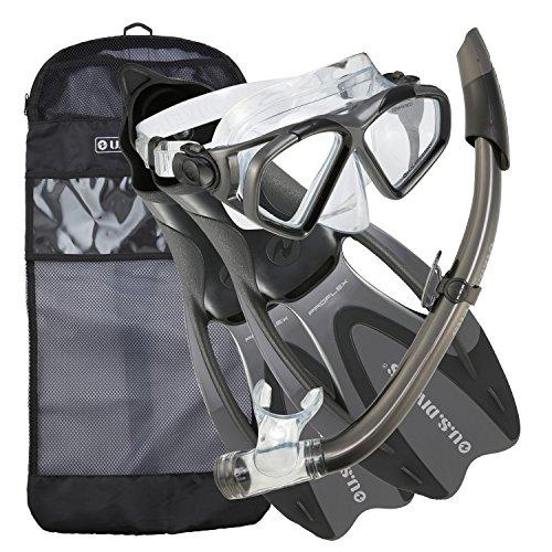 U.S. Divers Cozumel Snorkeling Set - Adult Mask,...