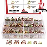 Hilitchi 72 pcs Spring Band...