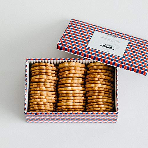 マモン エ フィーユ Maman et Fille ビスキュイ プレーン 缶タイプ French Biscuit 焼菓子 クッキー ギフト 贈り物
