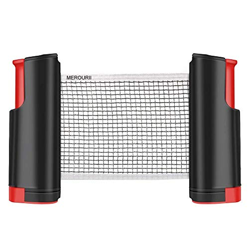 Red De Tenis De Mesa Portátil Retráctil Table Tennis Net Red De Ping-Pong para Entrenamiento Deportes De Interior Al Aire Libre