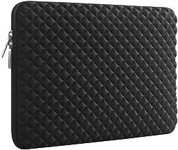 Life Edge ノートパソコン インナーバッグ スリーブ カバー ネオプレン 耐衝撃 撥水 ダイヤモンド (13インチ, 黒)