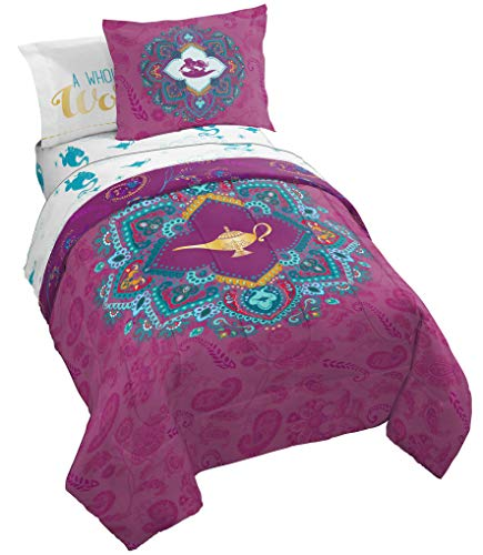 Jay Franco Disney Aladdin Show You The World Bed Set, Queen