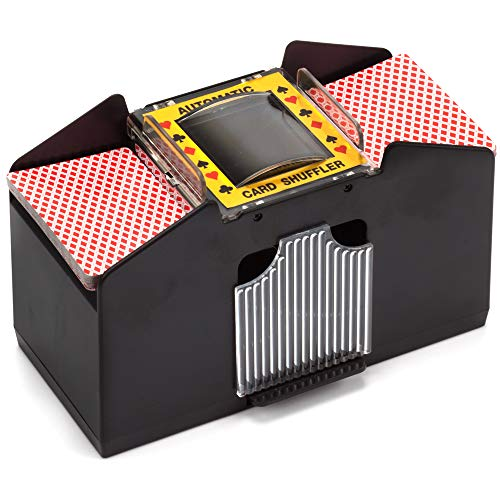1-4 Deck Casino Automatic Card Shuffler for Poker Games