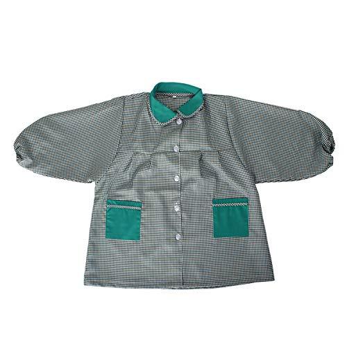 MISEMIYA - Baby 609 Bata Infantil Uniforme GUARDERIA - Verde, 5 Años