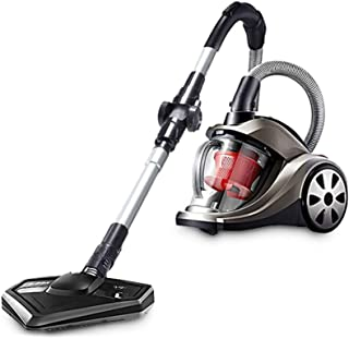 JION Bagless Vacuum Cleaner, 1800W HEPA Filter, Cyclone Carpet and Hard Floor Cleaner, Lightweight, Low Noise, Flexible Hose, [A + Energy]