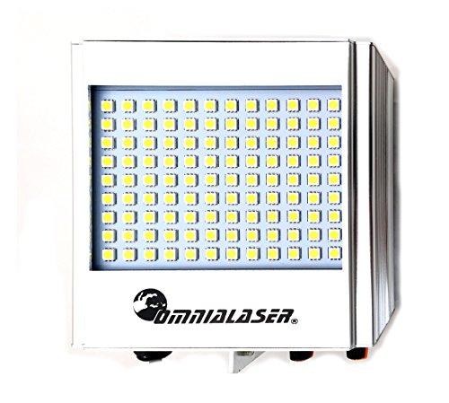 OmniaLaser OL-ST320 Effetto Luce Strobo Lampada Stroboscopica LED con Microfono Interno
