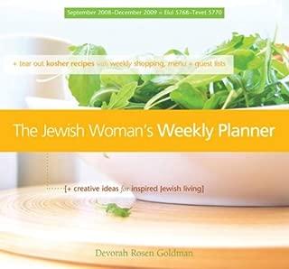 The Jewish Woman's Weekly Planner (September 2008 - December 2009) Engagement Calendar