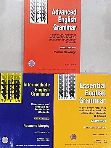 Cambridge Essential + Intermediate + Advanced English Grammar (Combo)
