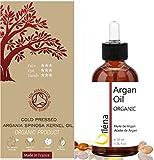 Aceite Puro de Argán. Ecológico y Prensado en Frío. Oro Líquido de Marruecos para Cabello, Piel y Uñas. 50 ml