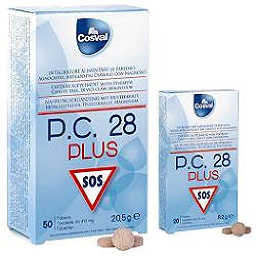 Cosval PC28 Plus Integratore Alimentare per il Tono Psico Fisico - 20 Tavolette da 410 Mg
