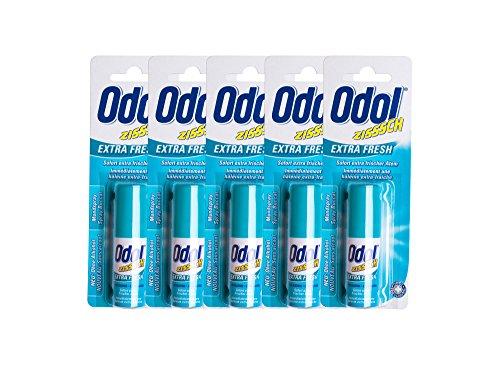 5x Odol Mundspray EXTRA FRESH 15ml
