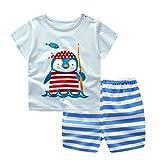 Conjuntos de bebé,Recién nacido bebés niños niñas dibujos animados Penguin...