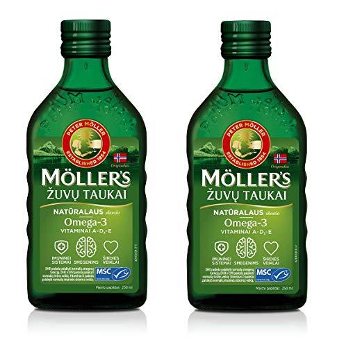 Aceite de Hígado de Bacalao de Pescado de Moller con Omega 3,...