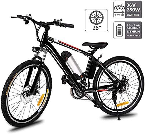 günstig Hiriyt faltbares Elektrofahrrad, 36V 250W Elektrofahrrad, 8A Lithiumbatterie Mountainbike, Größe 26 Zoll… Vergleich im Deutschland