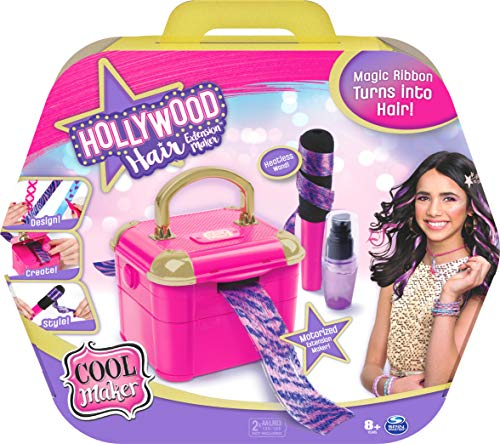 Cool Maker Hollywood Hair Extension Maker w/ 12 Customizable Extensions & Accessories $8 + Free Shipping w/ Amazon Prime or Orders $25+