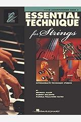 Essential Technique Piano Accompaniment Strings Book 3 Spiral-bound
