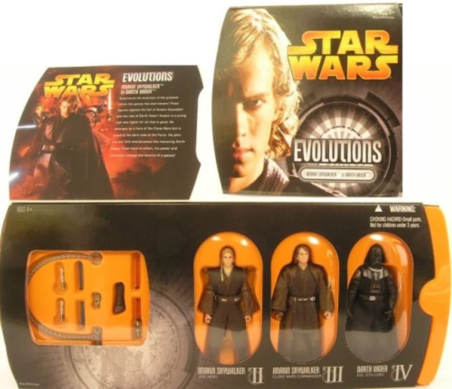 Hasbro Evolutions Anakin To Darth Vader Star Wars