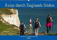 Reise durch Englands Sueden (Wandkalender 2022 DIN A2 quer): Bezauberndes Suedengland (Monatskalender, 14 Seiten )