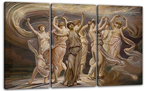 Płótno 3 części (120x80cm): Elihu Vedder - Plejady