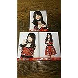 写真92硬質 AKB48 久保怜音 第8回 紅白対抗歌合戦 会場 生写真 3種 コンプ TDC 2018 紅白歌合戦 tk1811