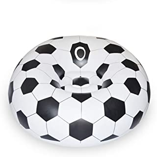 YueYueZou® Soccer Ball Chair, Inflatable Sofa for Adults, Kids