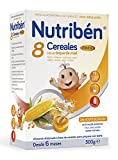 Nutribén Papilla 8 Cereales Miel Fibra - 300 gr