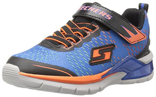 Skechers S Lights By Skechers Lava Arc Textile Turnschuhe, Blau (BLOR), 27