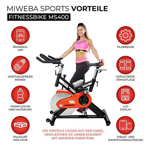 Profi Indoor Bike MS400 Ergometer Heimtrainer kaufen  Bild 1*