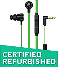 Razer Hammerhead Pro V2 - Flat Style Cables with Omnidirectional Microphone and Volume Controls (Renewed)
