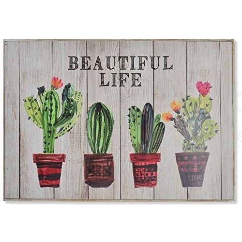 Item D,casa - Tapa de contador diseño Cactus