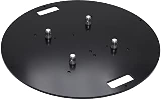MILOS UBPd800|QTU|STEEL Steel base plate round with half con. for M222/M290/M390, U truss series
