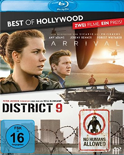 Arrival / District 9 - Best of Hollywood/2 Movie Collector's Pack [Blu-ray]