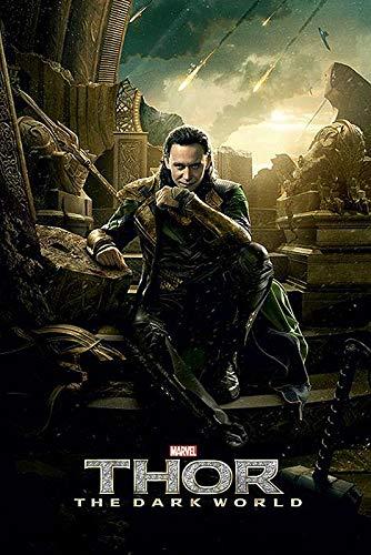 Close Up Póster de Loki de Thor 2 The Dark World (61 x 91,5 cm)
