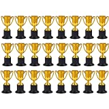Juvale Gold Trophy Cups for Award Competitions, Sports Tournaments (2 x 4 x 2 in, 24 Pack)
