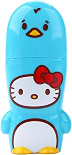 8GB Blue Penguin Hello Kitty Loves Animals x MIMOBOT Designer USB Flash Drive with bonus preloaded Mimory content, Limited Edition by Mimoco