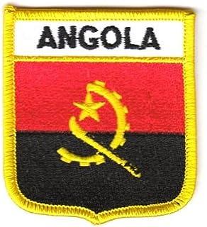 gratis Aufkleber Flaggenfritze Schwei/ßband Motiv Fahne//Flagge Angola