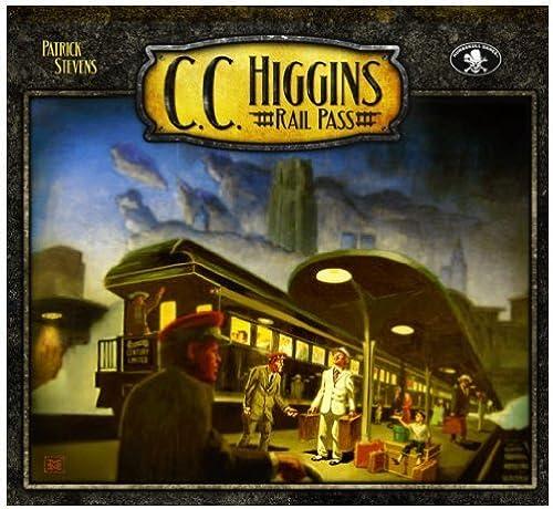 C. C. Higgins Rail Pass by Numbskull Games