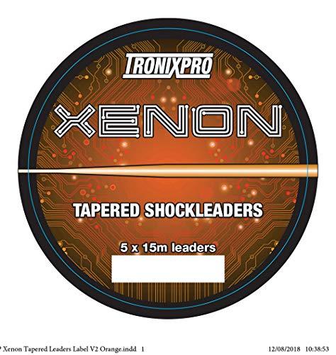 Tronixpro Xenon Tapered Leader Línea líder de Pesca,