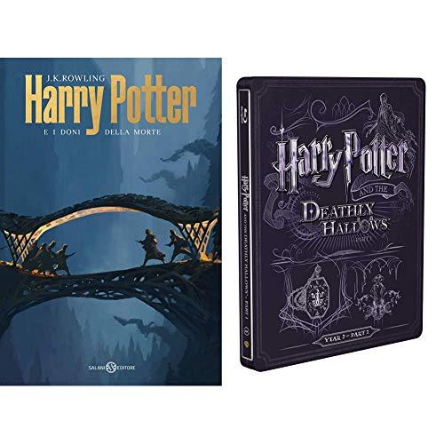 Harry Potter E I Doni Della Morte - Parte 01 (Steelbook + Libro)