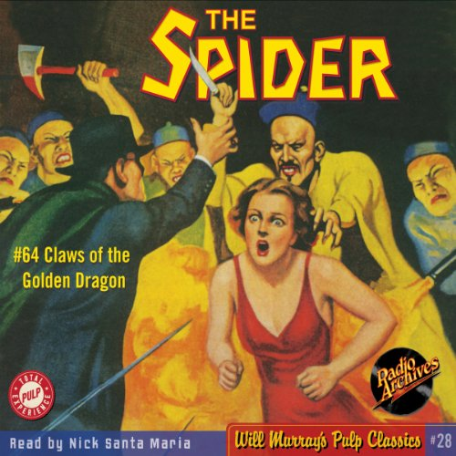 Spider #64, January 1939 cover art