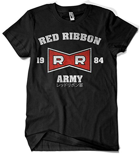 2236-Camiseta Premium, Red Ribbon Army (Melonseta)