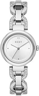 DKNY Eastside Women's Silver Dial Stainless Steel Analog Watch - NY2849